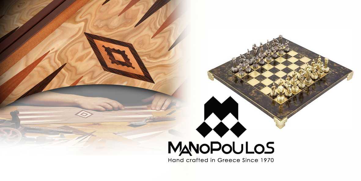 Μανόπουλος, Σκάκι, Τάβλι